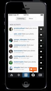 Szybkie lajki na instagramie