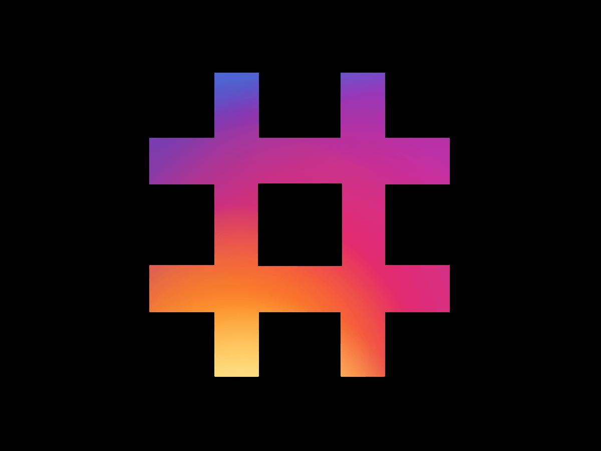 najpopularniejsze hashtagi