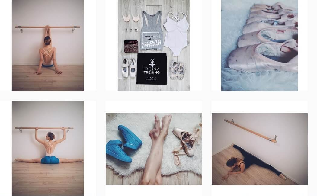 pomysł na profil na instagramie sport