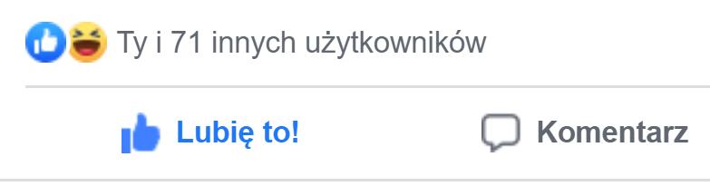 dużo like na facebooku