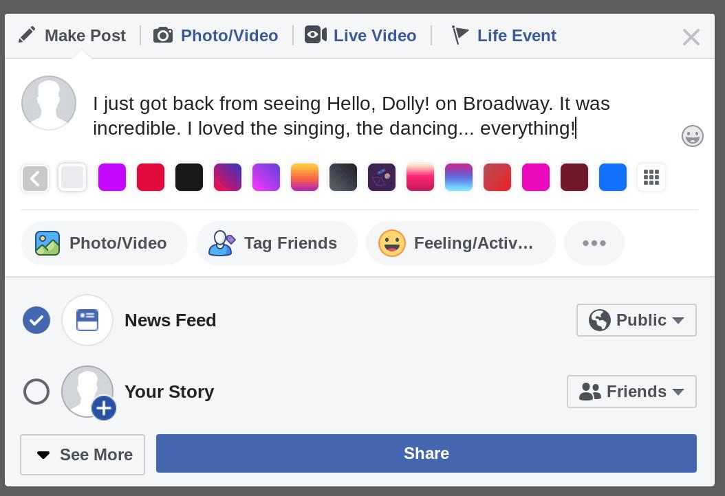 jak napisać dobry post na facebooku