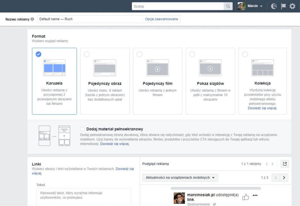 Grupa docelowa a cena reklamy na Facebooku