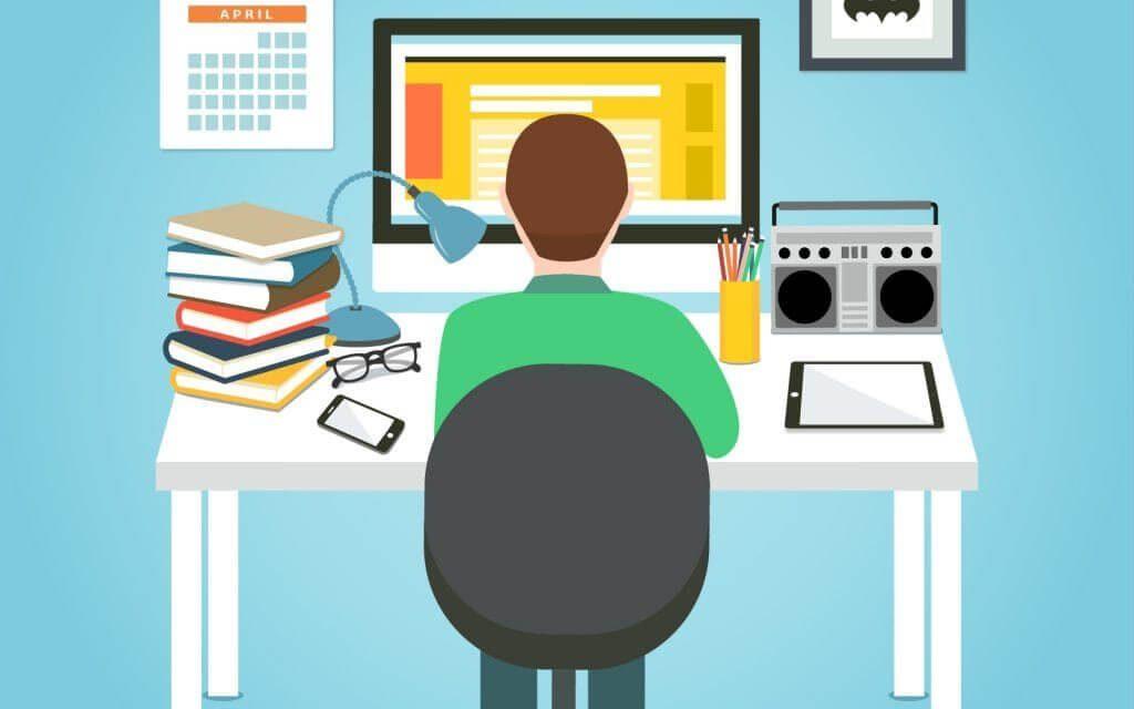 na jakich zasadach przebiega praca online