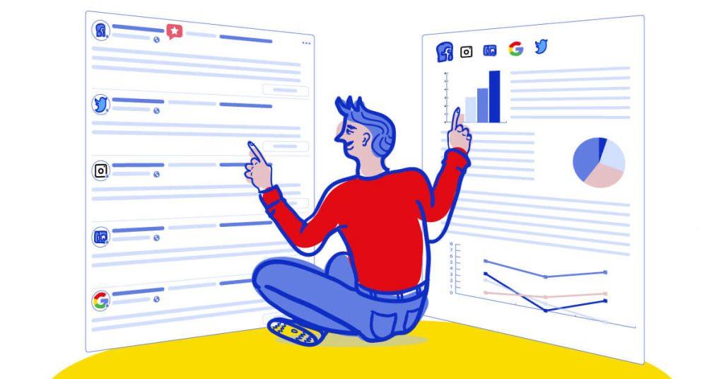 statystyki profilu firmowego na instagramie